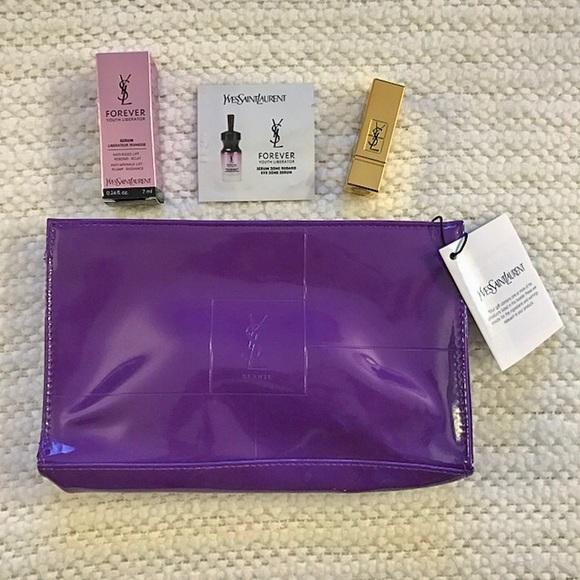 a9f9ca029ffa YSL 5pc Makeup Lipstick Mascara Mini Travel Set. NWT. Yves Saint Laurent